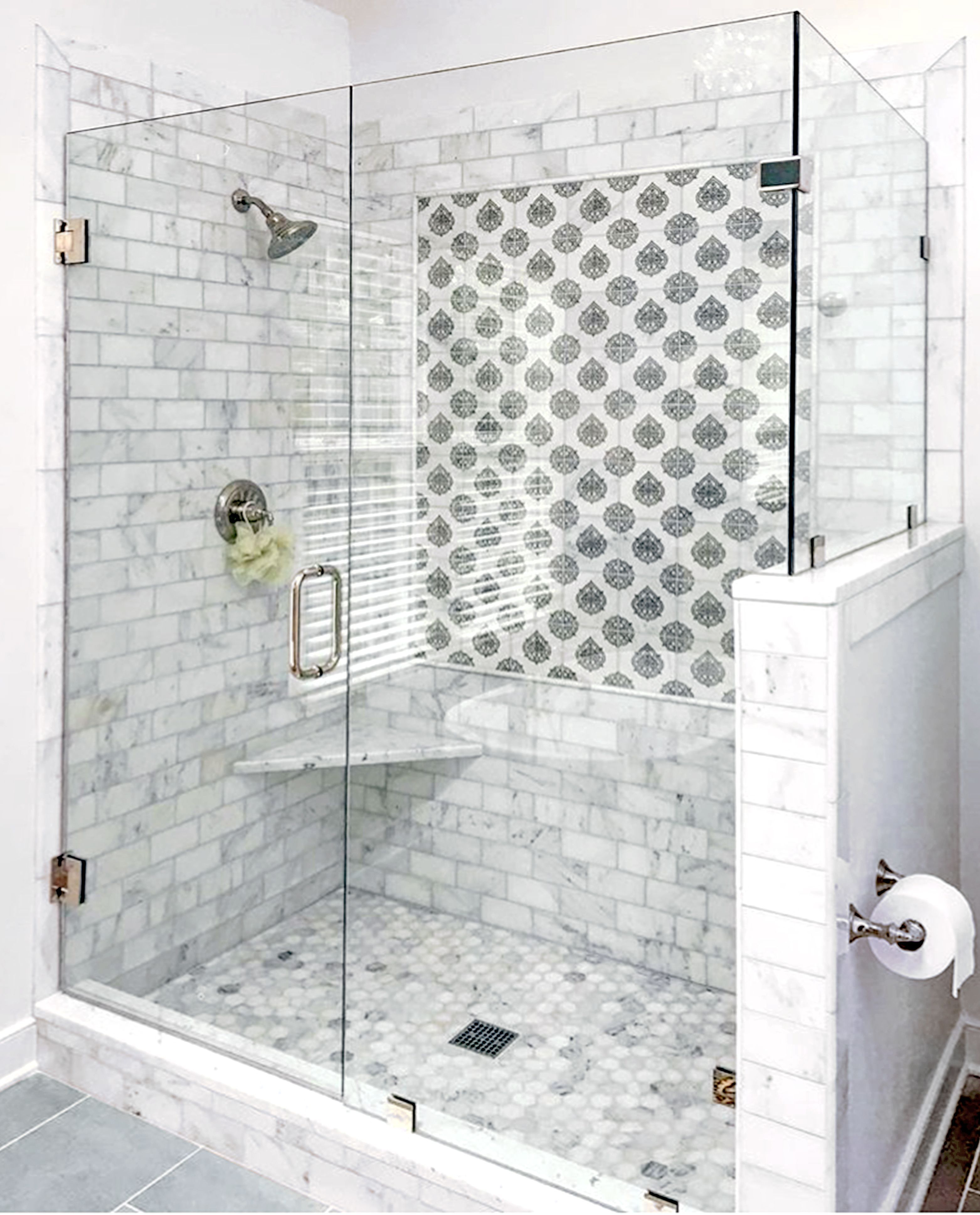 Beautiful bathroom renovation by the talented Katie Howlett of KMH ...