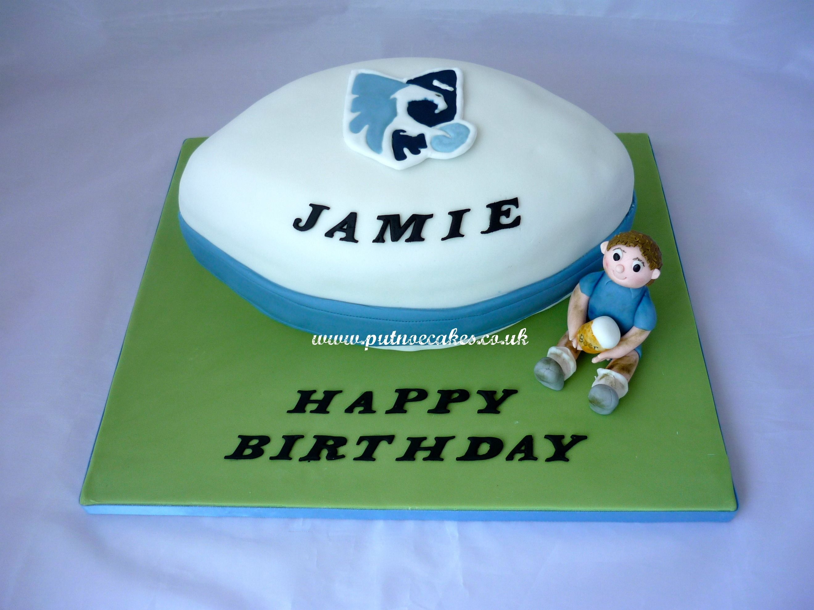Birthday Cakes With Name Mitesh ~ Bedford blues logo google search cakes to make ideas etc