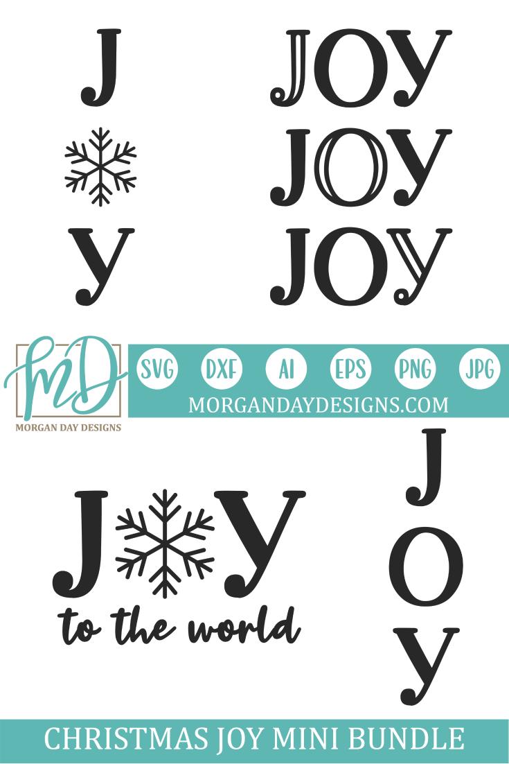 Christmas Joy Mini Bundle Files for Silhouette Studio
