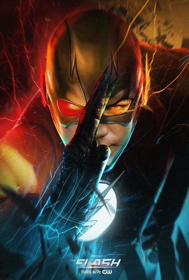 The Flash, Reverse Flash, and Zoom … Héros marvel, Super