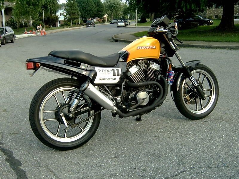 Honda Vt500 Scrambler Hobbiesxstyle