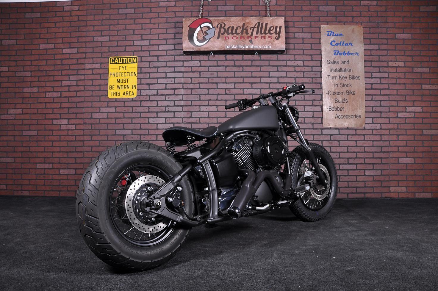 Yamaha V Star 1100 | Motorcycle | Bobber bikes, Bobber