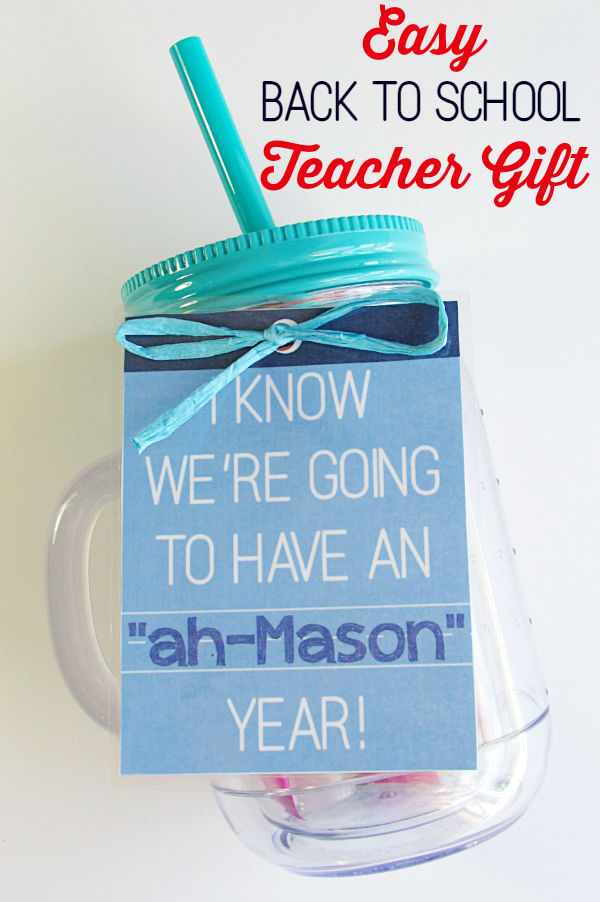 Easy back to school teacher gift free printable gift tags mason easy back to school teacher gift mason jar tumblermason jarsfree printable gift tagsfree negle Gallery