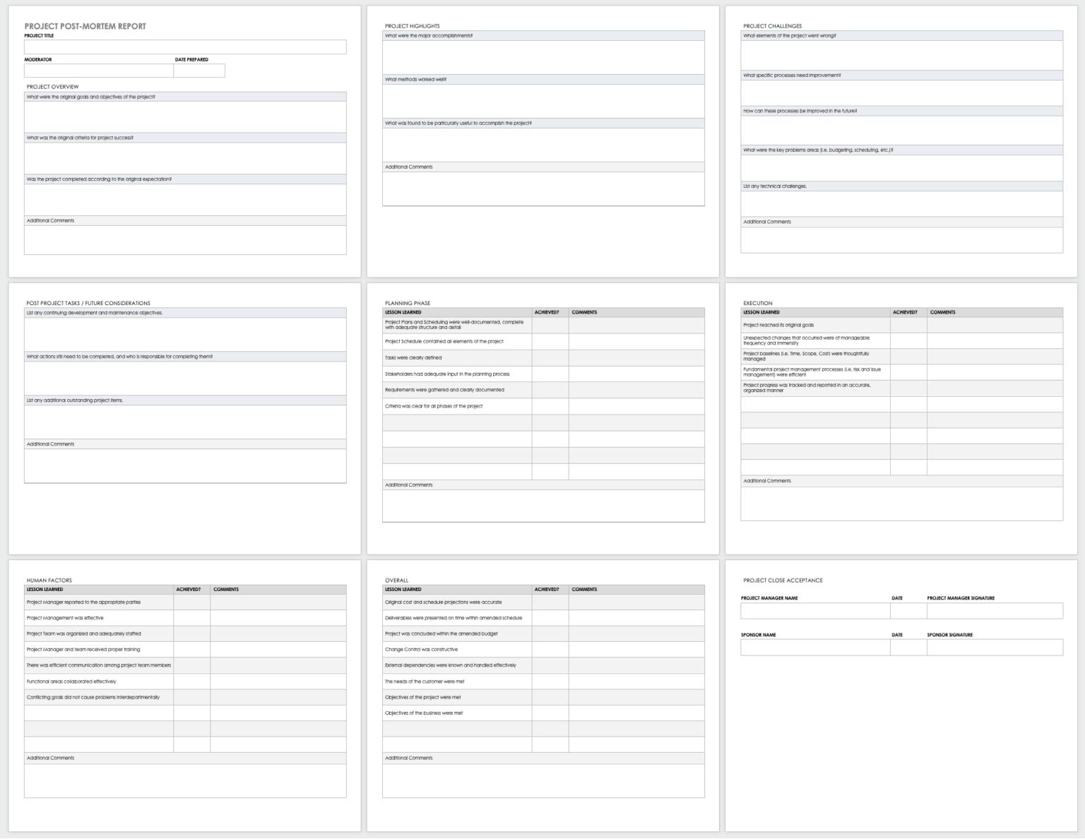 Free Project Report Templates Smartsheet Regarding Technical Support Report Template In 2020 Progress Report Template Report Template Smartsheet
