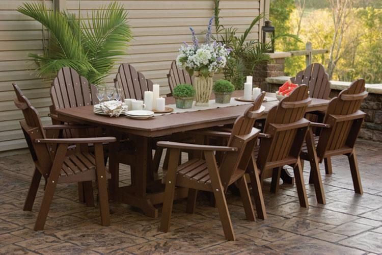 amish outdoor patio furniture