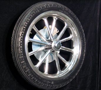 Custom Wheels 12 Spoke Spindle Mount Wheels Tri Ribb Custom Wheels Wheel Custom Wheels Car Wheel