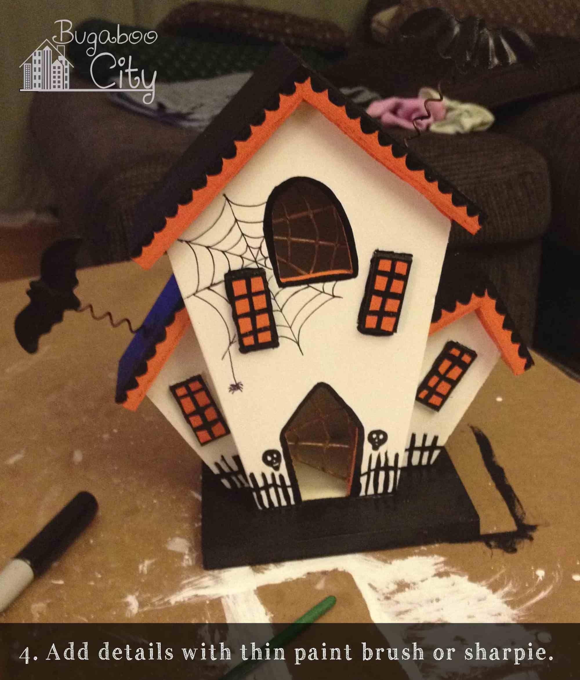 DIY Halloween Haunted Houses