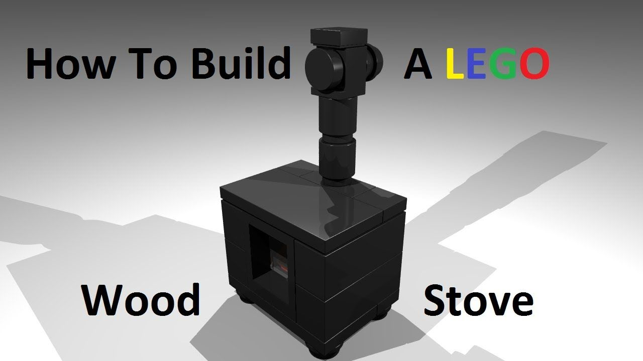 How To Build A Lego Wood Stove Custom Moc Instructions Kids Play