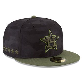 Men's Houston Astros New Era Black 2018 Memorial Day On