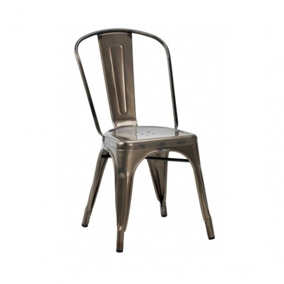 French Bistro Side Chair   Forest Contract