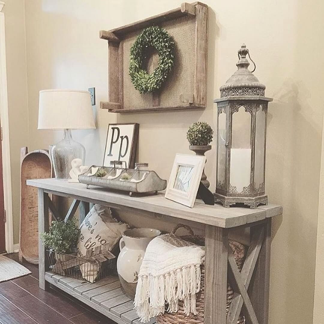 Awesome Rustic Decor Ideas To Complete A Apartment Rustic Entry
