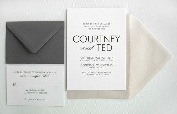 Cheap Wedding Insurance: 18 Simple + Inexpensive Wedding Invitations