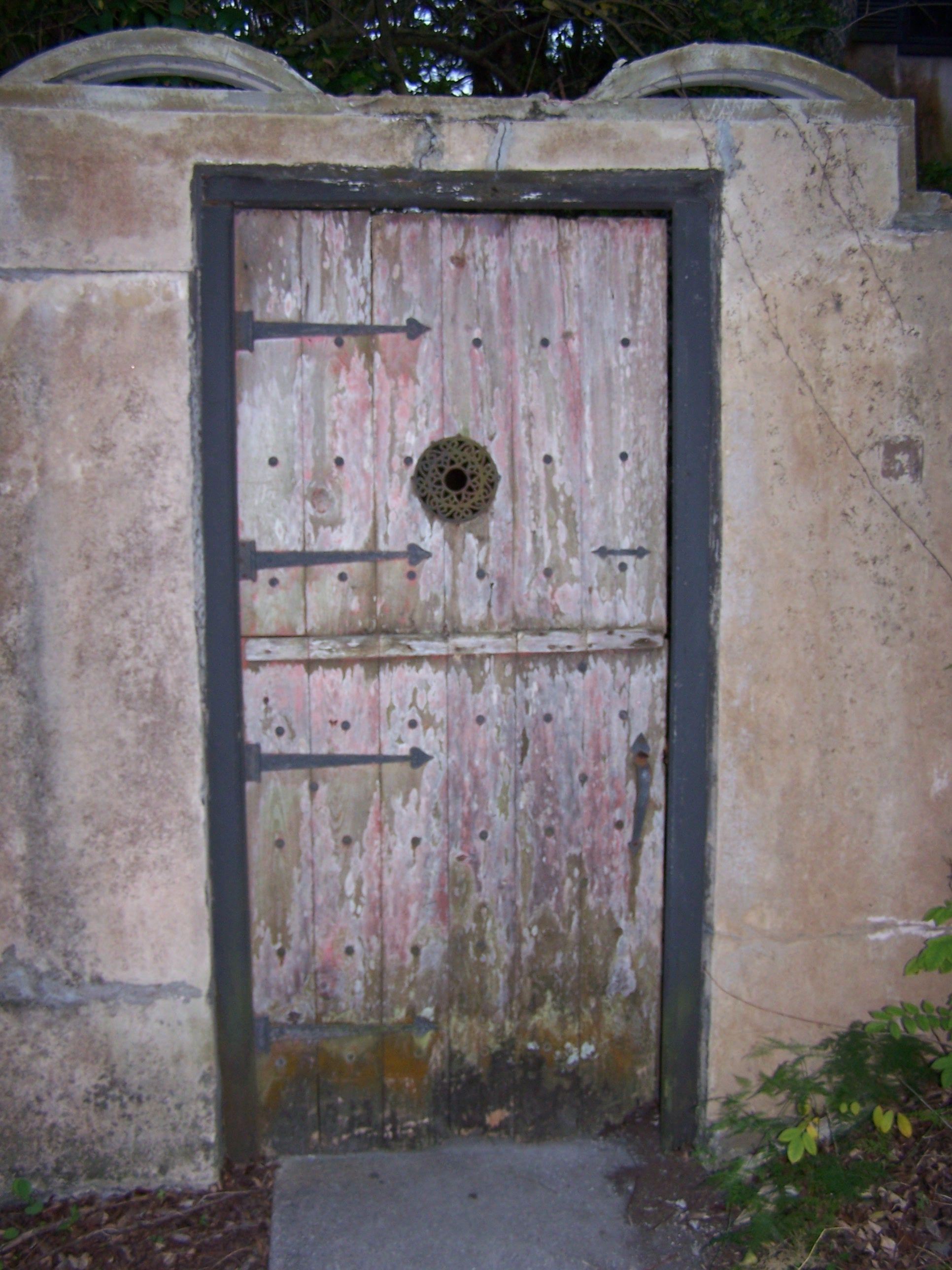 Famous Red Door, Off Of Alvarez St., St. Augustine, FL