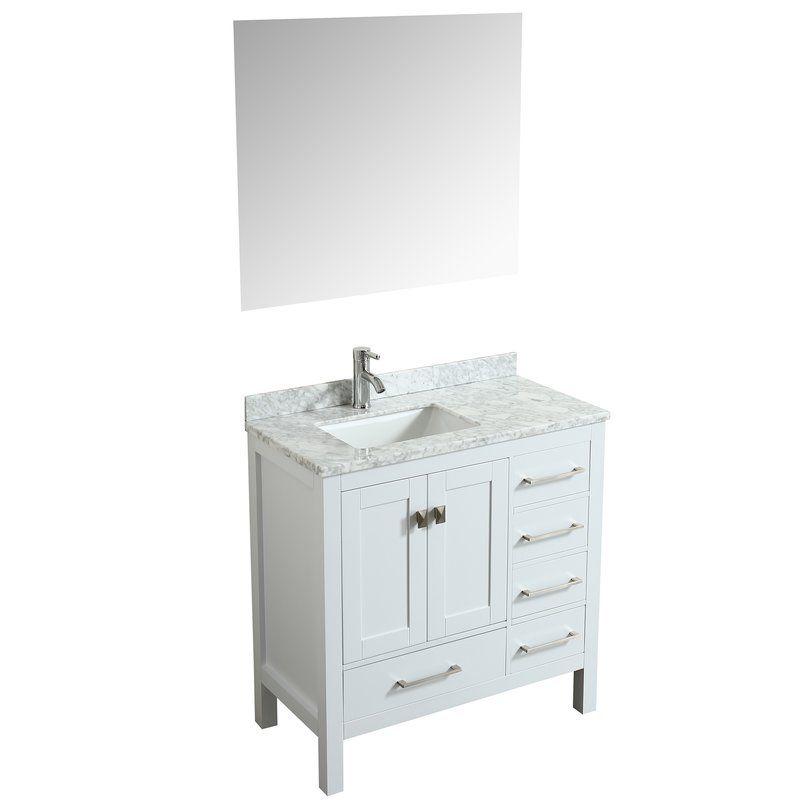 khadijah 36 single bathroom vanity set bathroom bathroom white rh pinterest com