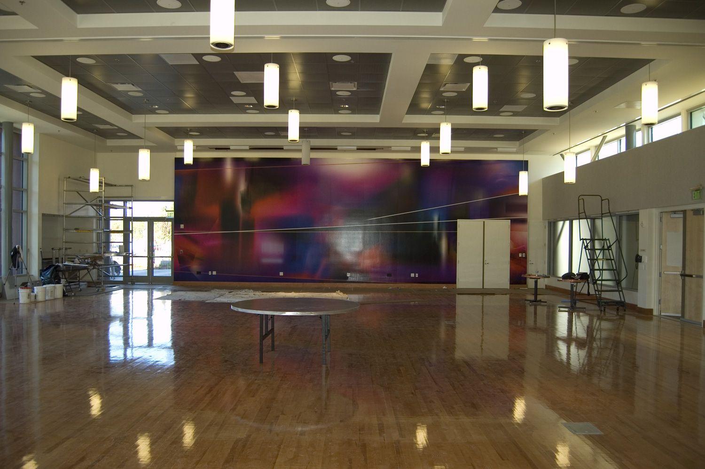 Roosevelt Community Center Flat screen, Flatscreen tv