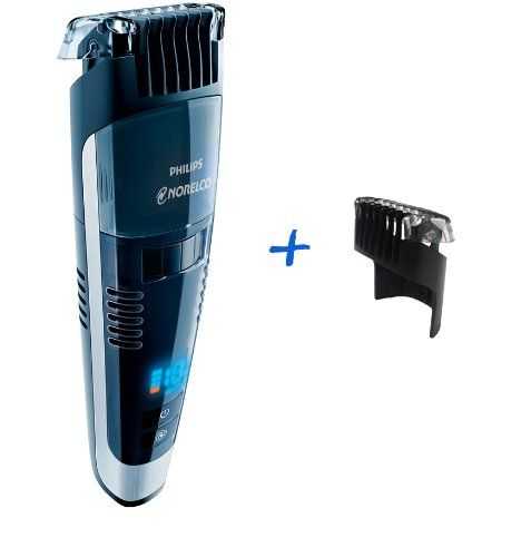 Best Vacuum Beard Trimmer 2020 Philips Norelco QT4070 Vacuum Beard, Stubble and Mustache Trimmer