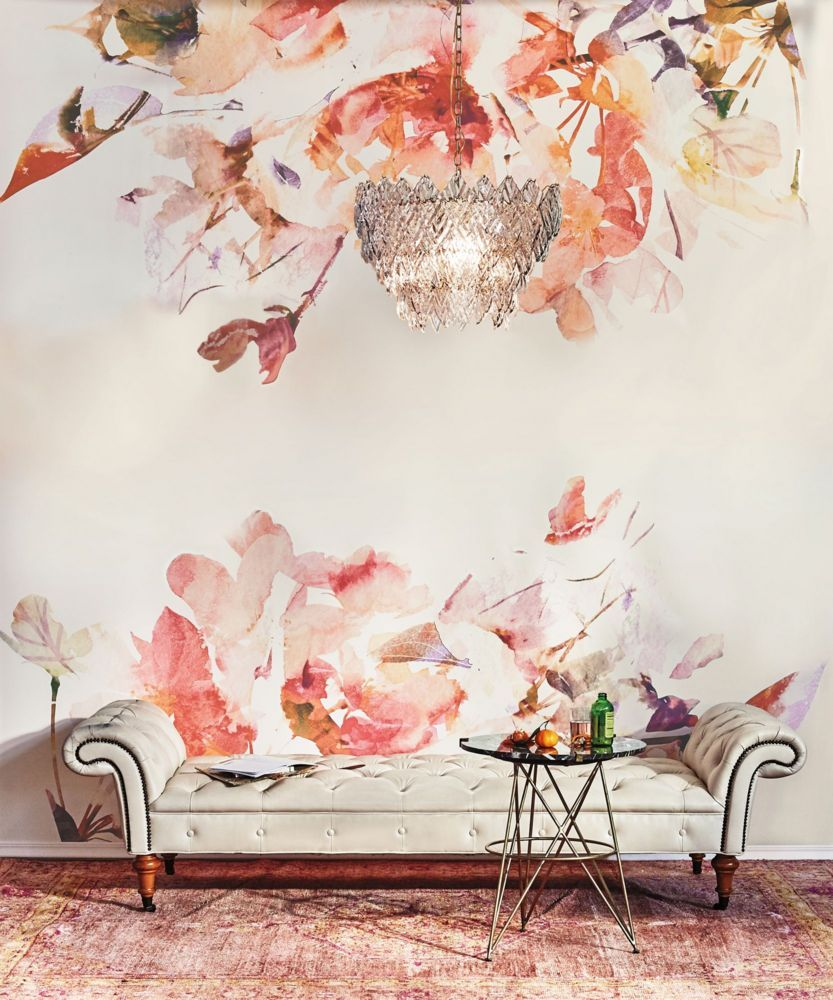 11 things we learned from the anthropologie catalog for Anthropologie mural wallpaper