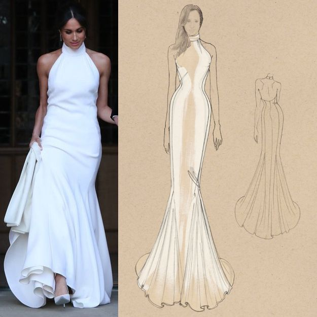 Megan Wedding Dress: Meghan Markle's Stella McCartney Wedding Reception Dress