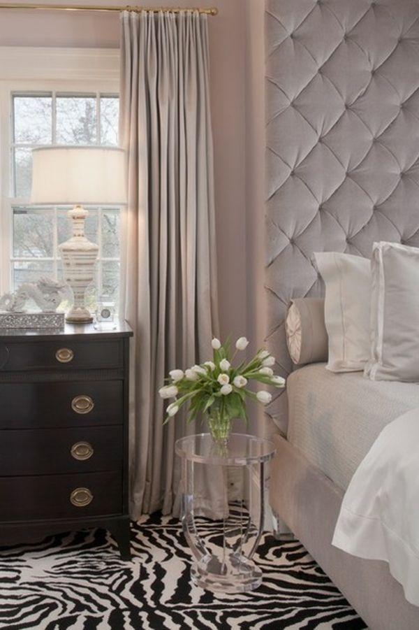 Bunte Dekoideen fürs Schlafzimmer - Dekoartikel und Designmethoden - gardinen fürs schlafzimmer