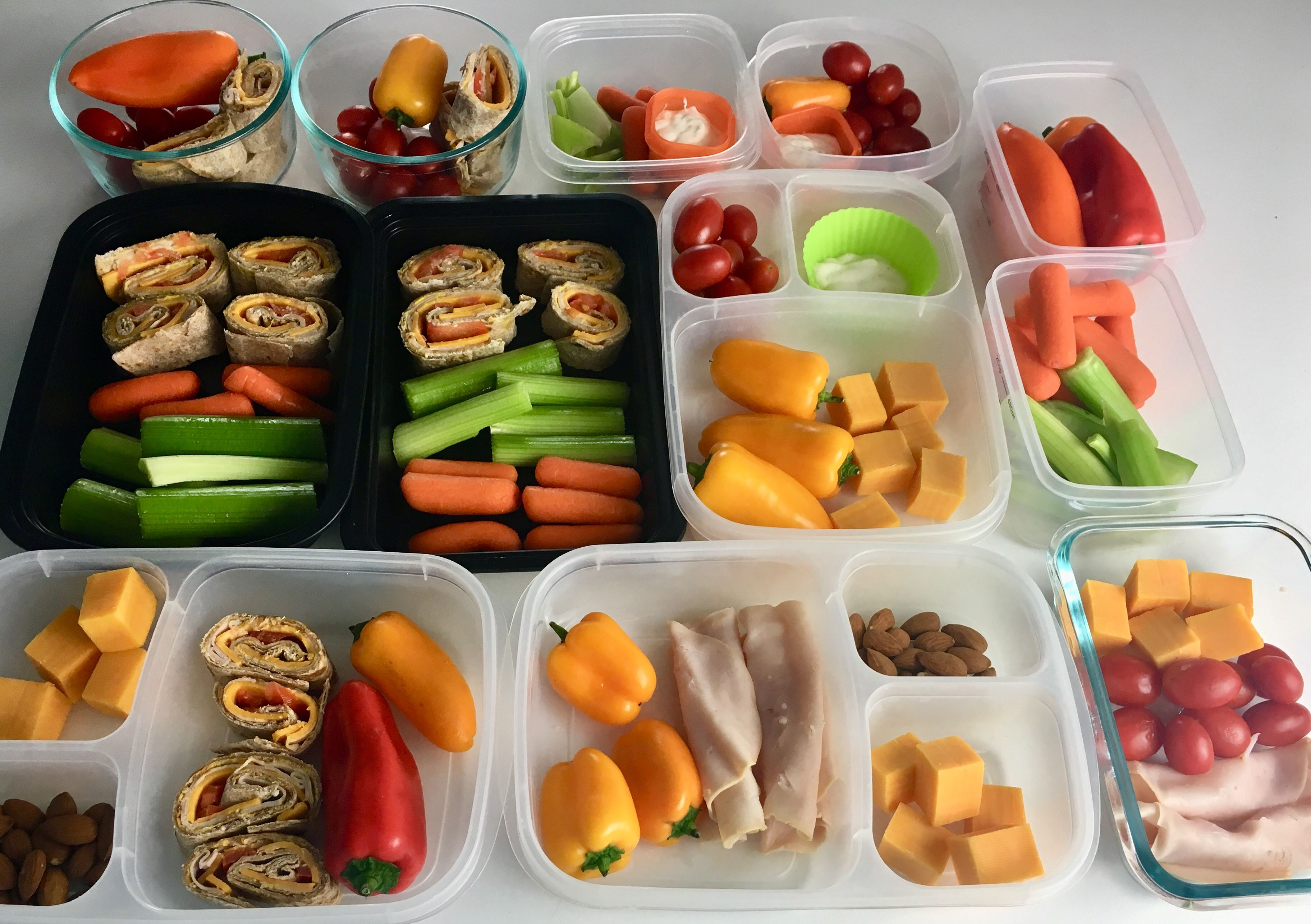 Easy No Cook Healthy Snacks for Meal Prep