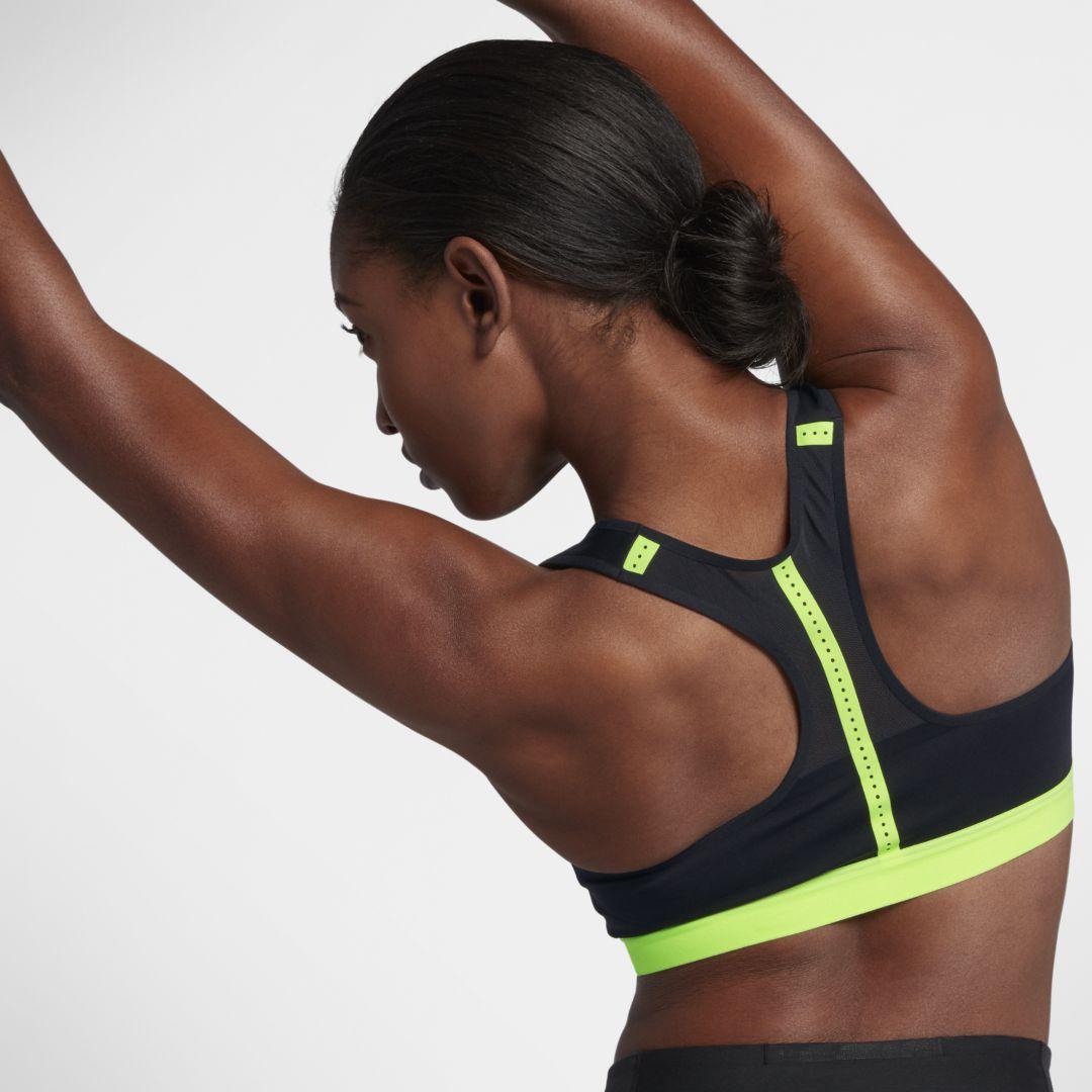 ca3f0fcfc Nike Motion Adapt Women s High Support Sports Bra Size XS (Black ...