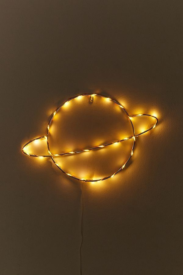Saturn Light Sculpture