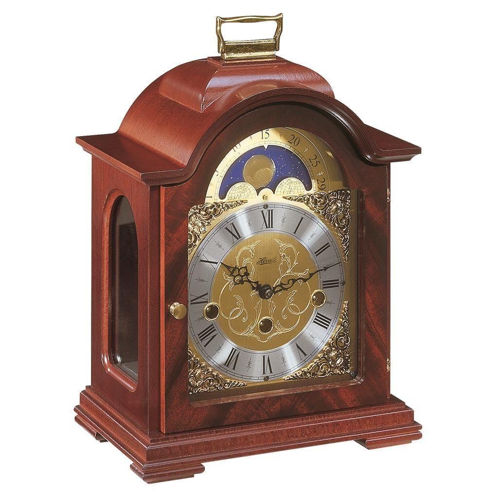 Hermle Debden Mechanical Table Clock 22864070340 Mahogany Mantel Clocks Mantel Clock Table Clock