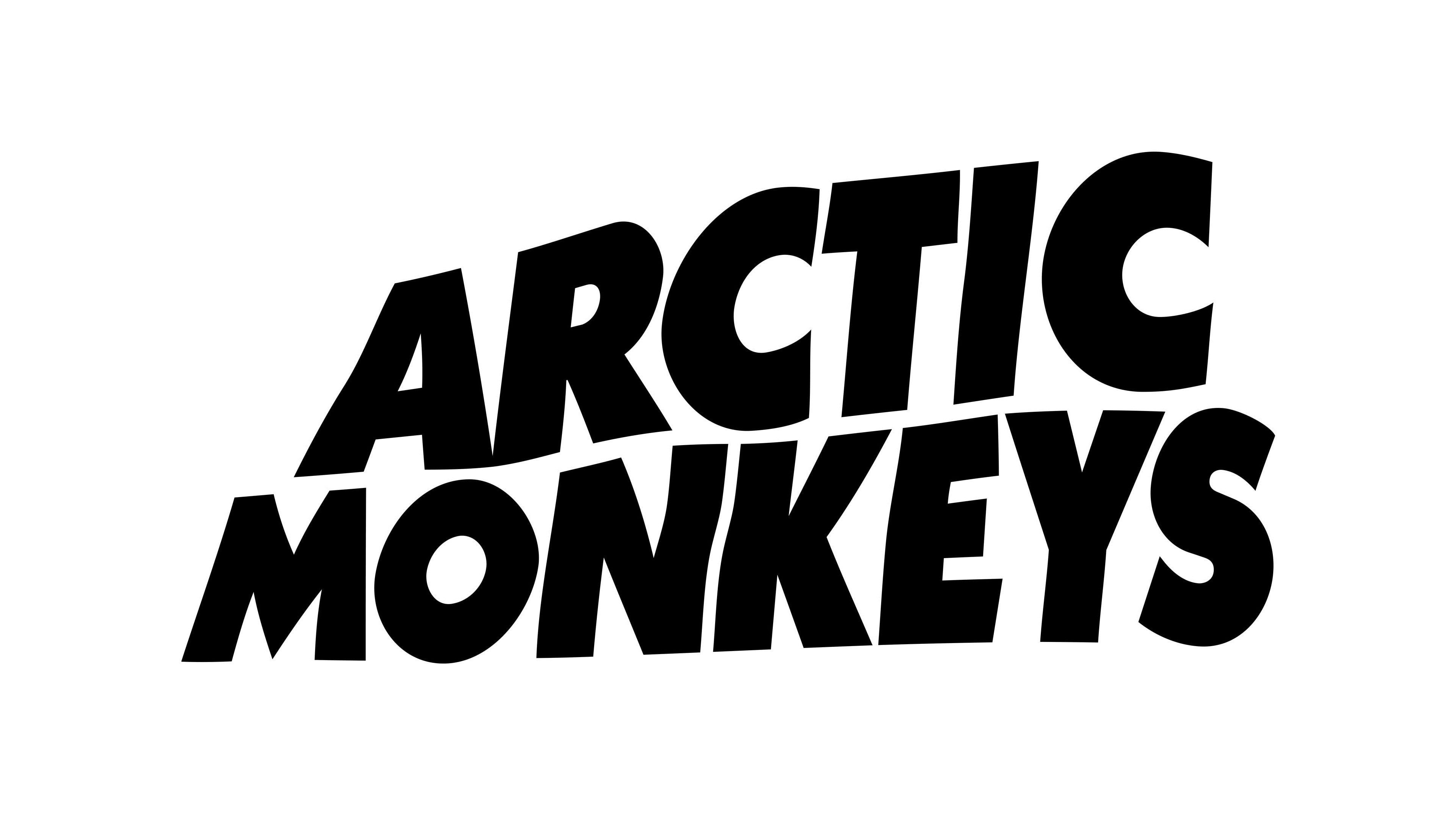 Arctic Monkeys Logo 4k Wallpaper Hdwallpaper Desktop Arctic Monkeys Wallpaper Arctic Monkeys Monkey Wallpaper