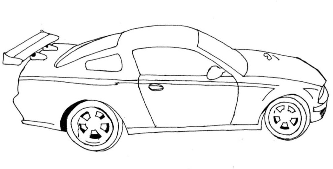 Image car coloring pages for kids 191 Pinterest Free printable