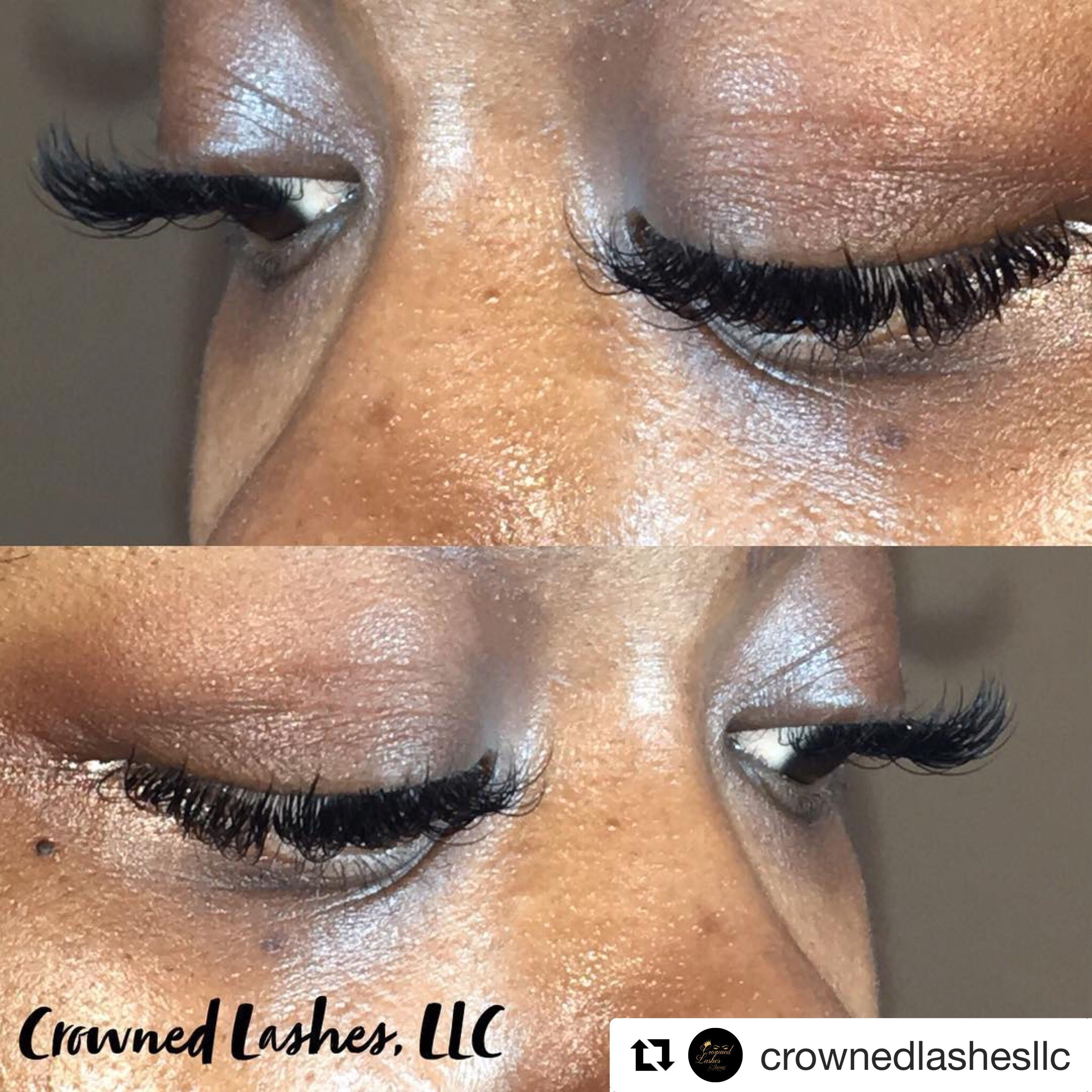 Classic Eyelash Extensions Follow On Ig Crownedlashesllc Crowned
