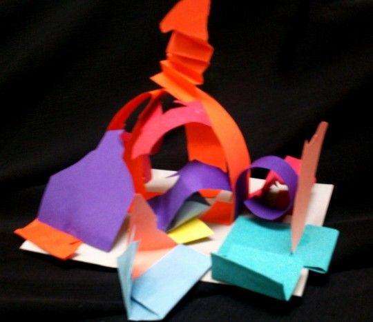 3D Super Hero Paper Sculptures Denver, Colorado  #Kids #Events