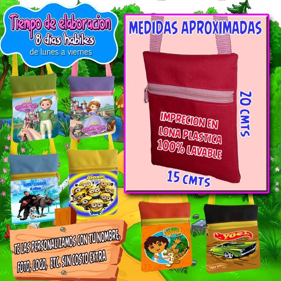 10 Bolsa Mariconera Dulcero Personalizado + Promociones -   120.00 en  MercadoLibre a22d64315afdd