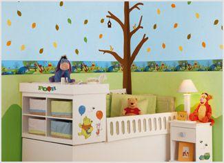 Pooh el cuento ideas para el hogar pinterest el for Cenefas para ninos