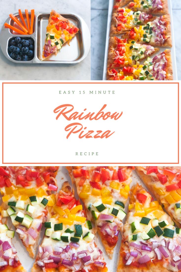 22+ Rainbow Pizza Recipe