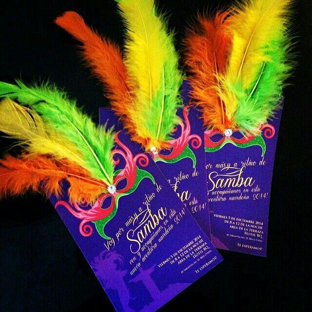 Invitación Temática De Carnaval Invitaciones De Carnaval