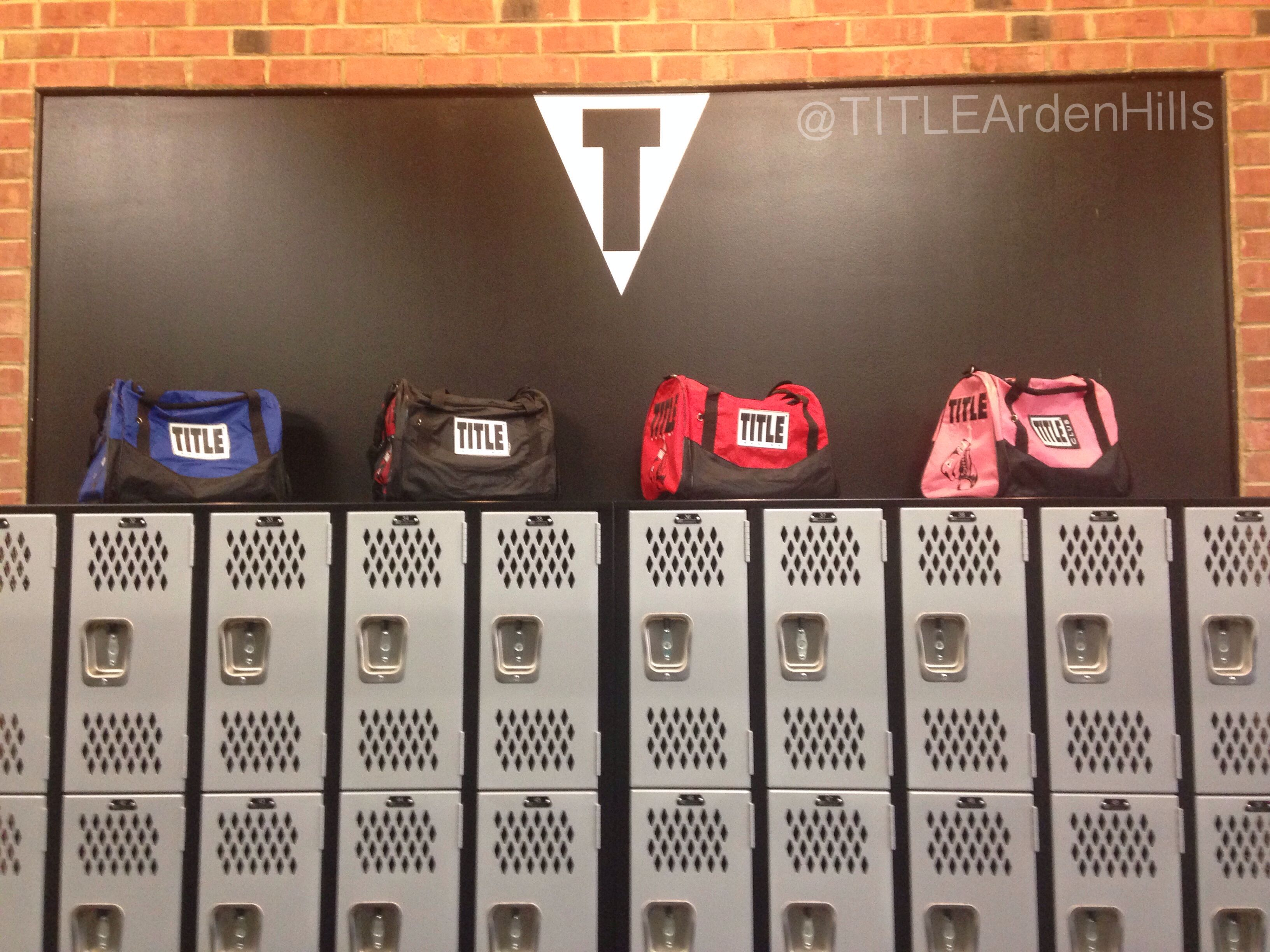 Traditional Title Boxing Gym Bags TITLE Club Arden Hills Ardenhills
