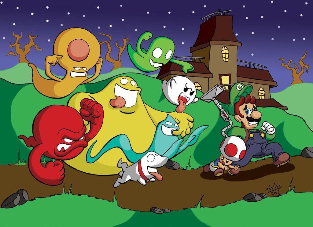 Luigi S Mansion Dark Moon By Wildgirl91 Deviantart Com On