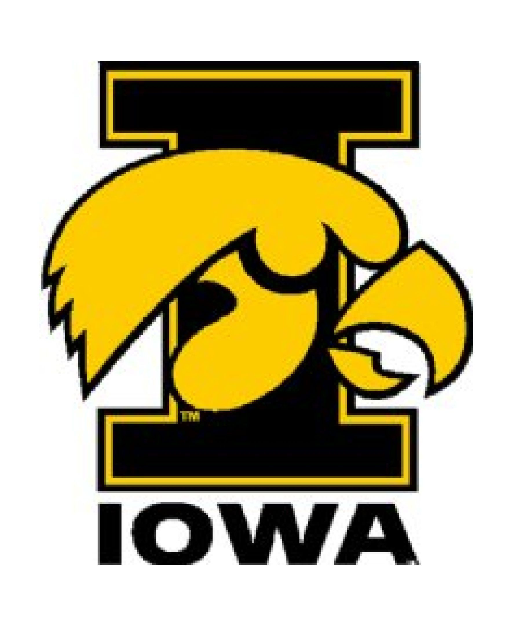 Stockdale Iowa Hawkeyes 4 X 4 Decal Iowa Hawkeyes Iowa