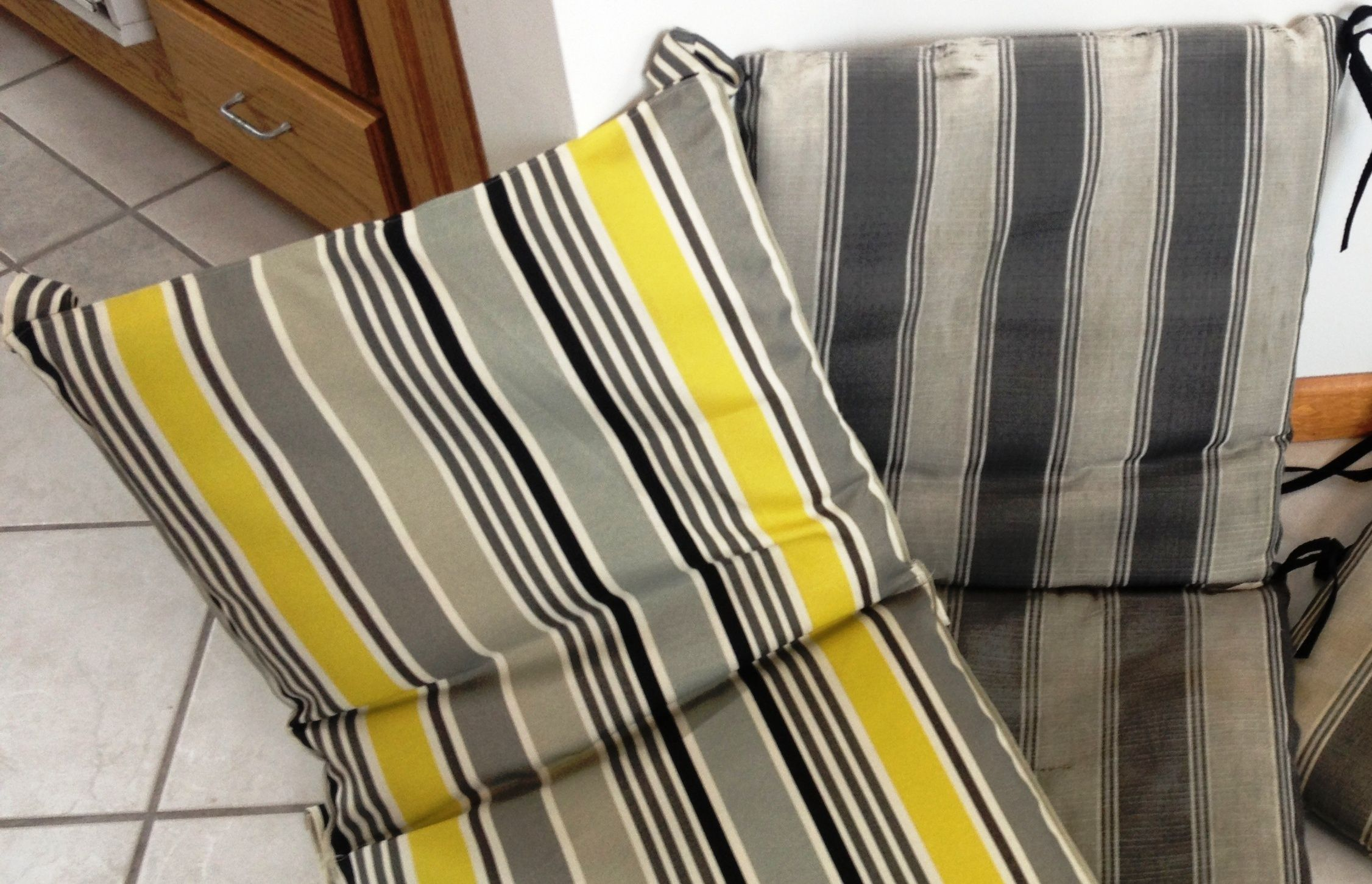 recovering lawn chairs big and tall office without arms how to recover chair cushions creative ideas
