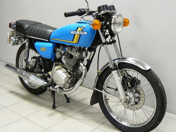 honda cb 125 s3 1976 motos pinterest moto motos anciennes et moto collection. Black Bedroom Furniture Sets. Home Design Ideas