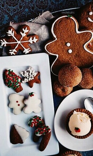 Related Image Gingerbread Cookies Christmas Tumblr Food
