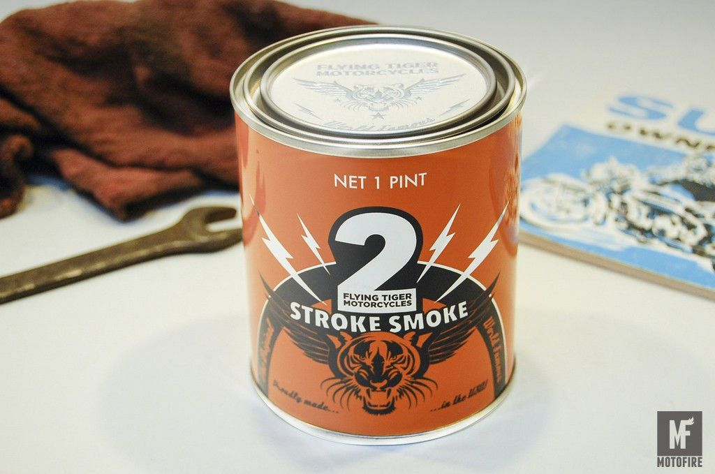 We'd like this Two-Stroke Smoke Candle for Christmas ...