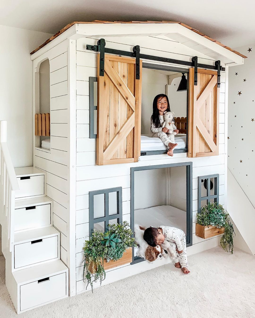Aenny Chung On Instagram Perfectly Normal To Live Vicariously Through One S Kids Right We Are Moving Dj Into Da House Bunk Bed Girl Bedroom Designs Home