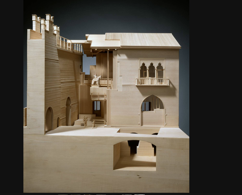 Carlo Scarpa Study Model By George Ranalli, Architect Based On Access To  The Scarpa Family