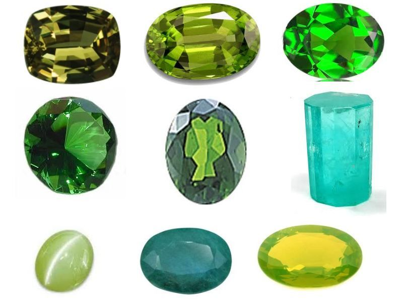 images of green gemstones | Green Gemstones name List And Their ...