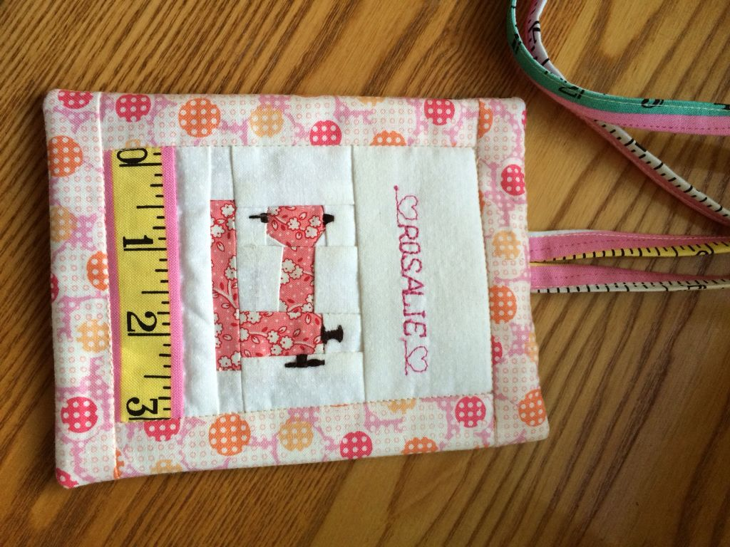 My Name Tag For Quilters Guild First Try At Paper Piecing Diy