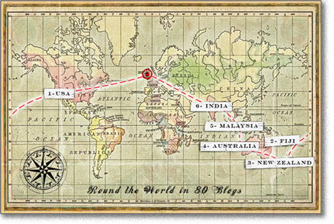 around the world in 80 days map - Google Search | My stuff | Around ...