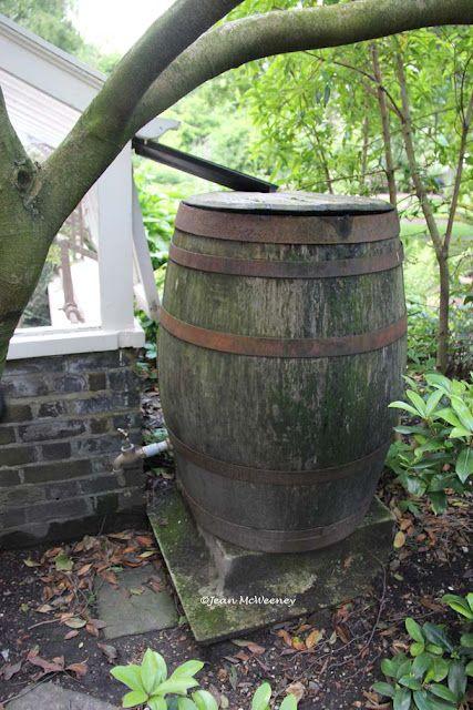 home made rain barrels