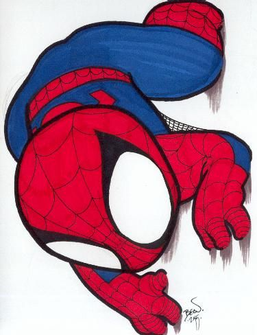 Chibi Spider Man 12 By Hedbonstudios On Deviantart