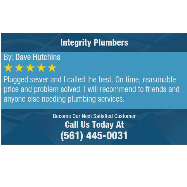 Plugged Sewer And I Called The Best On Time Reasonable Price And
